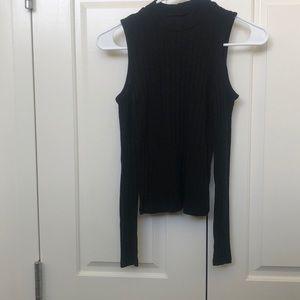 Black Could Shoulder American Eagle Shirt
